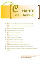 Service d'Accueil Familial «La Pirouette» – Charte d'accueil