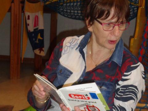 """Service d'Accueil Familial """"La Pirouette"""" - Atelier de lecture"""